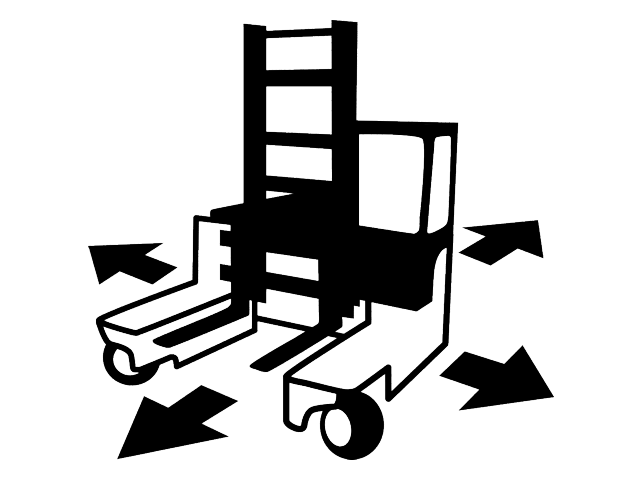 Still-FM-4W25-Vierwege Seitenstapler