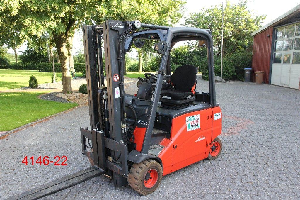 Linde-E 20 PHL 01-Elektro 4 Rad-Stapler-http://www.heftruckcentrumemmen.nl