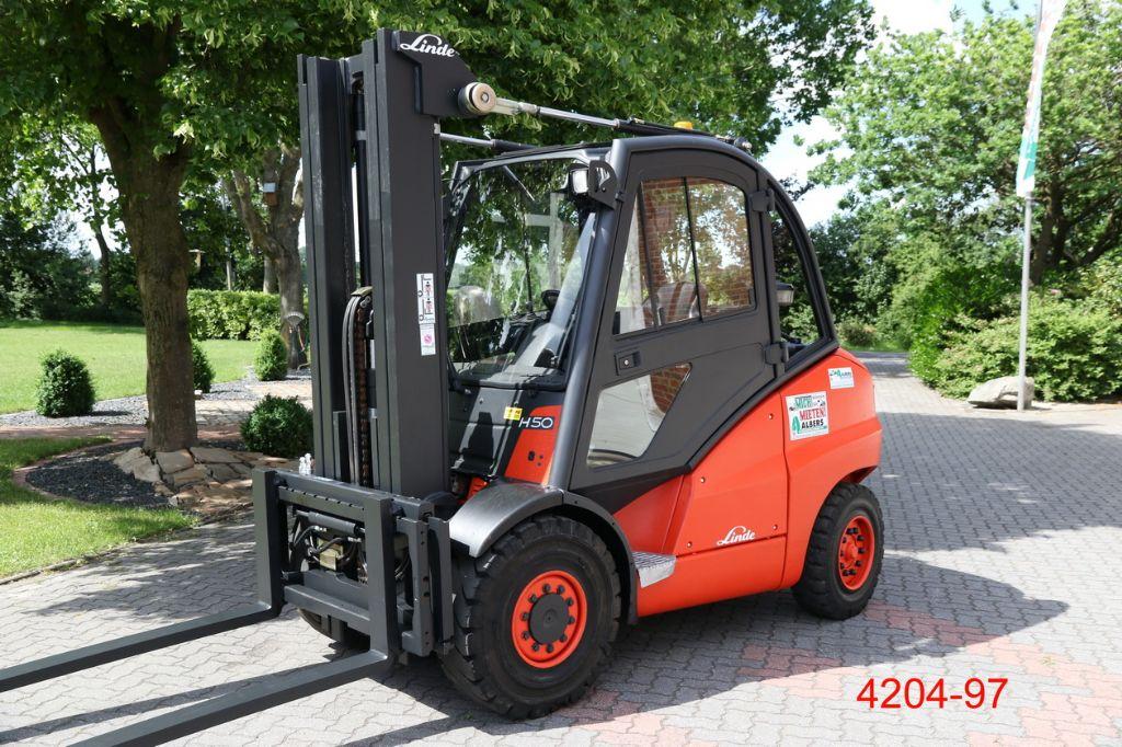 Linde-H 50 D-Dieselstapler-http://www.heftruckcentrumemmen.nl