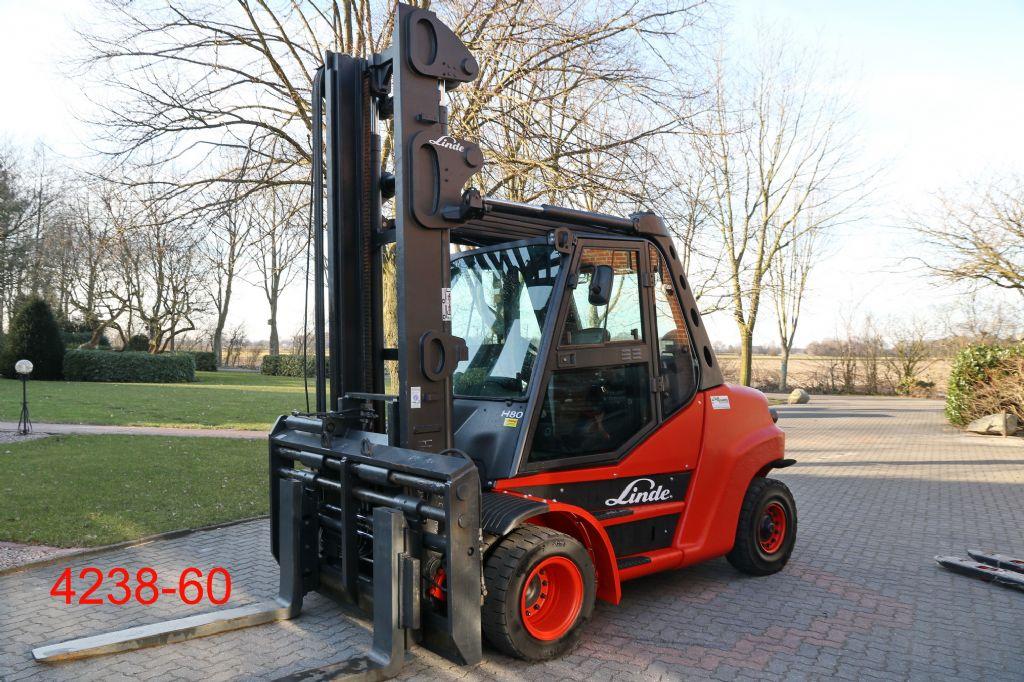 Linde-H 80 D 01 900-Dieselstapler-http://www.heftruckcentrumemmen.nl