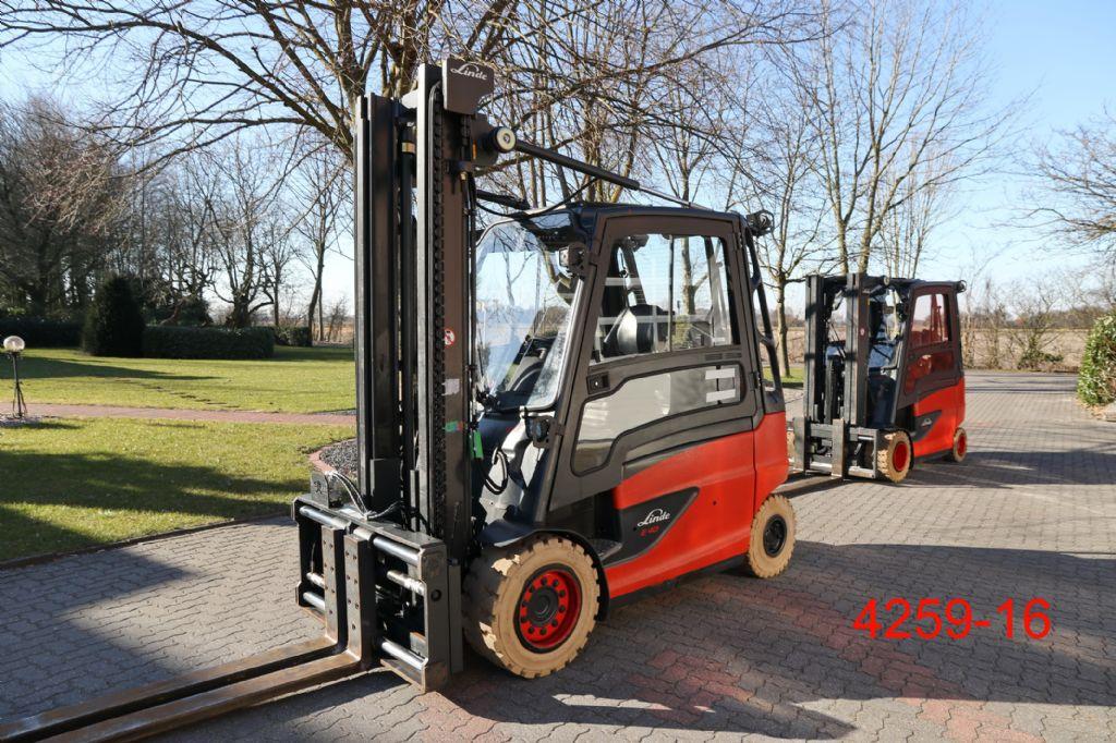 Linde-E 40 HL 01 600-Elektro 4 Rad-Stapler-http://www.heftruckcentrumemmen.nl
