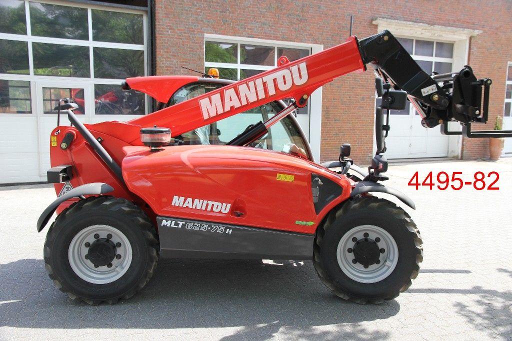 Manitou-MLT 625 - 75 Premium-Teleskopstapler starr-www.heftruckcentrumemmen.nl