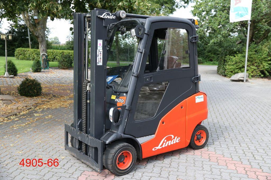 Linde-H 20 T -Treibgasstapler-http://www.heftruckcentrumemmen.nl