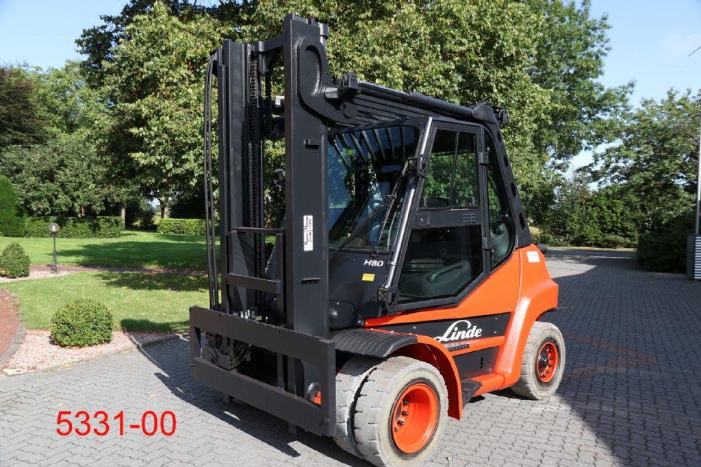 Linde-H 80 D 01-Dieselstapler-http://www.heftruckcentrumemmen.nl
