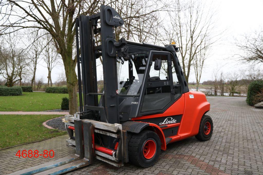 Linde-H 80 D 02 1100-Dieselstapler-http://www.heftruckcentrumemmen.nl