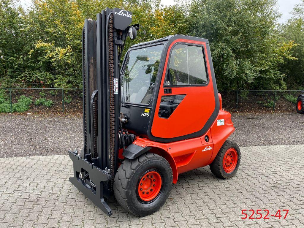 Linde-H 35 DG-Dieselstapler-http://www.heftruckcentrumemmen.nl