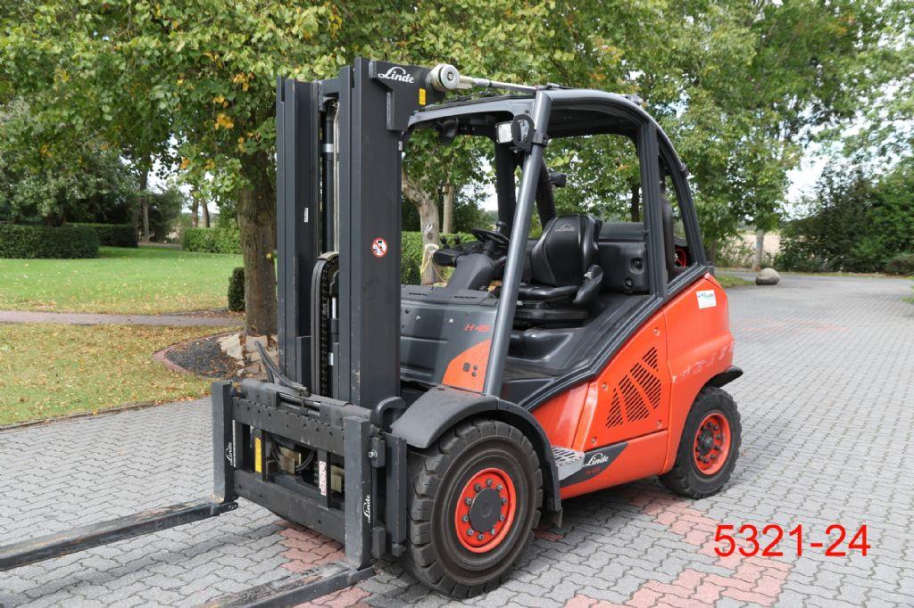 Linde-H 45 T 02-Treibgasstapler-http://www.heftruckcentrumemmen.nl