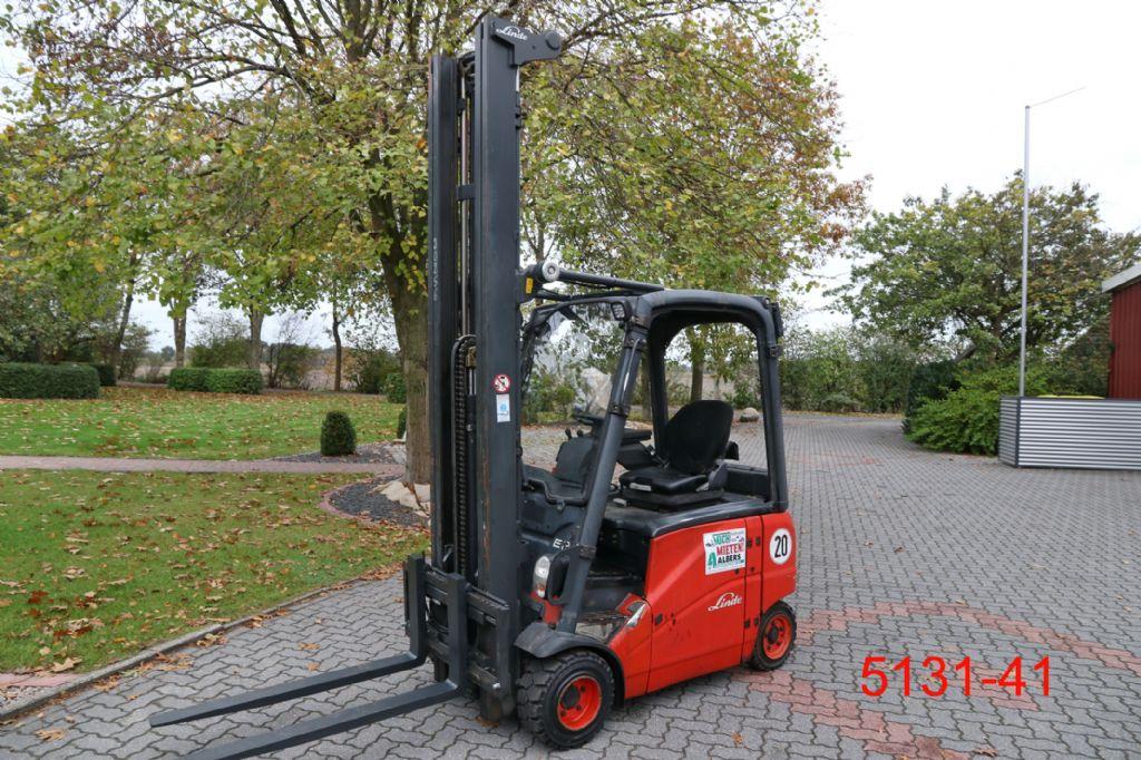 Linde-E 20 PH 01-Elektro 4 Rad-Stapler-http://www.heftruckcentrumemmen.nl