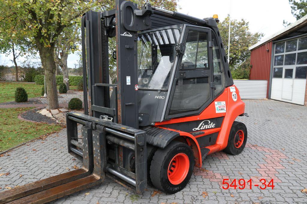 Linde-H 80 D-Dieselstapler-http://www.heftruckcentrumemmen.nl