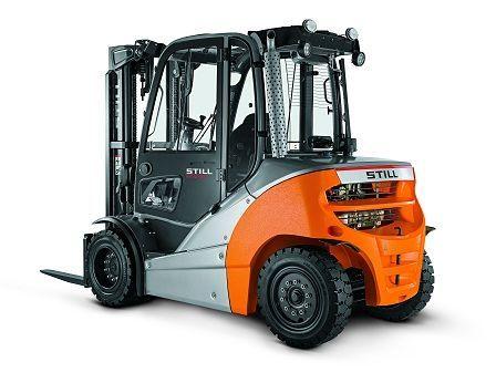 Still Dieselgabelstapler 4,0 - 5,0 t Dieselstapler www.blackforxx.com