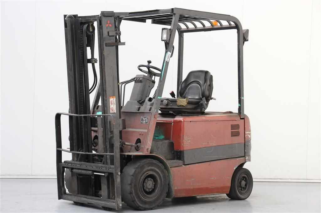 Mitsubishi-FB25K-PAC-Electric 4-wheel forklift http://www.bsforklifts.com