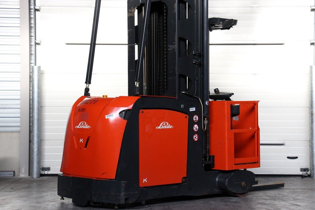 Linde-K-High Level Order Picker http://www.bsforklifts.com