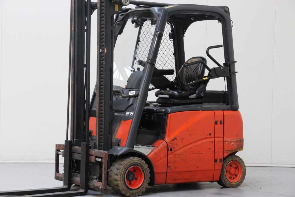 Linde-E18PH-01-Electric 4-wheel forklift http://www.bsforklifts.com