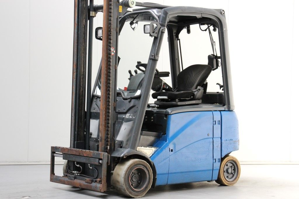 Linde-E20PH-01-Electric 4-wheel forklift http://www.bsforklifts.com