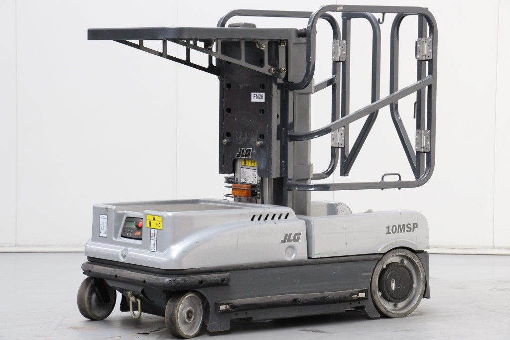 JLG-10MSP-Medium Lift Order Picker http://www.bsforklifts.com