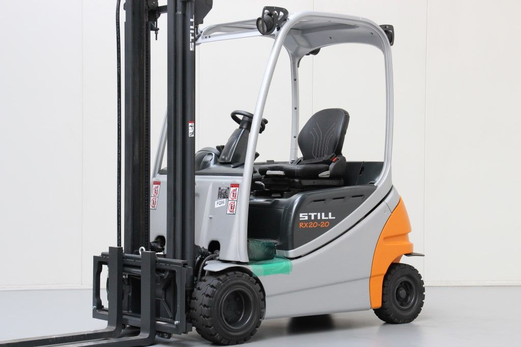 Still-RX20-20P-Electric 4-wheel forklift http://www.bsforklifts.com