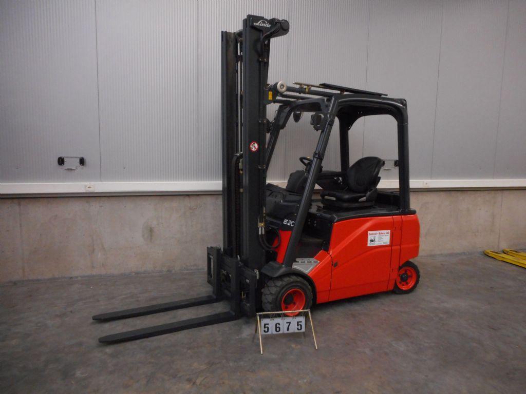 Linde-E20 PHL-01-Elektro 4 Rad-Stapler-www.sbstapler.ch