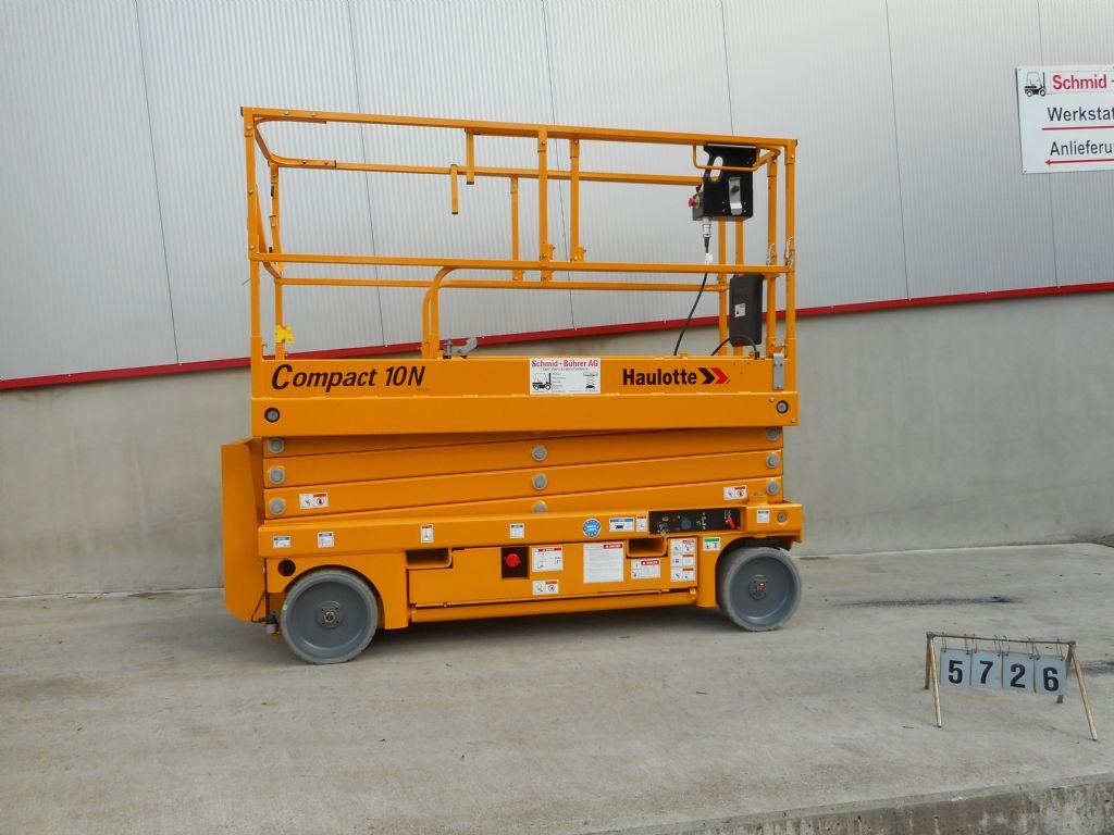 Haulotte-Compact 10N-Scherenarbeitsbühne-www.sbstapler.ch