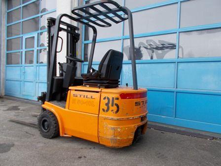 Still-R50-10L-Elektro 3 Rad-Stapler-http://www.staplerservice-ebert.de