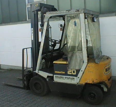 Komatsu-FB20H-1E-Elektro 4 Rad-Stapler-http://www.ehlers-stapler.de