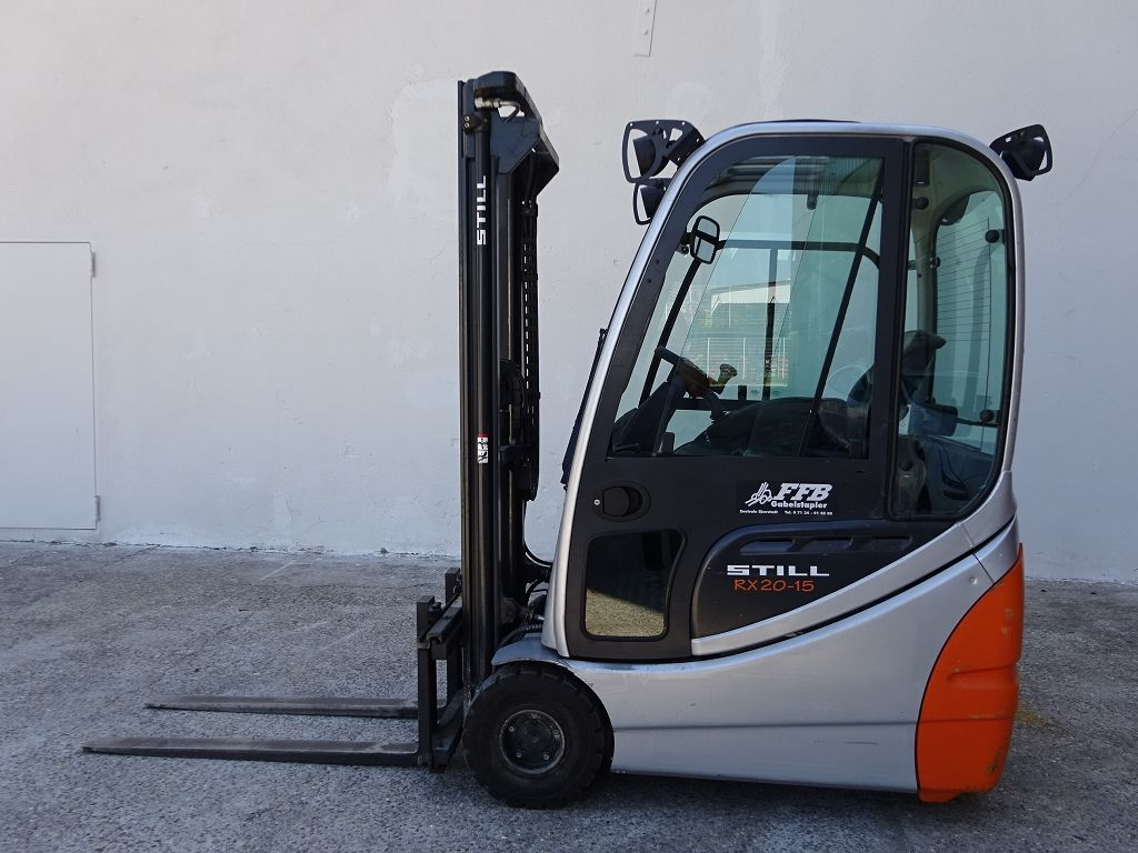 Still-RX20-15-Elektro 3 Rad-Stapler-http://www.ffb-gabelstapler.de