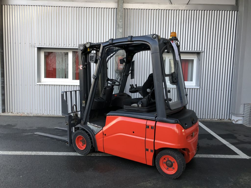 Linde-E 20 PL-Elektro 4 Rad-Stapler-http://www.fiegl-foerdertechnik.de