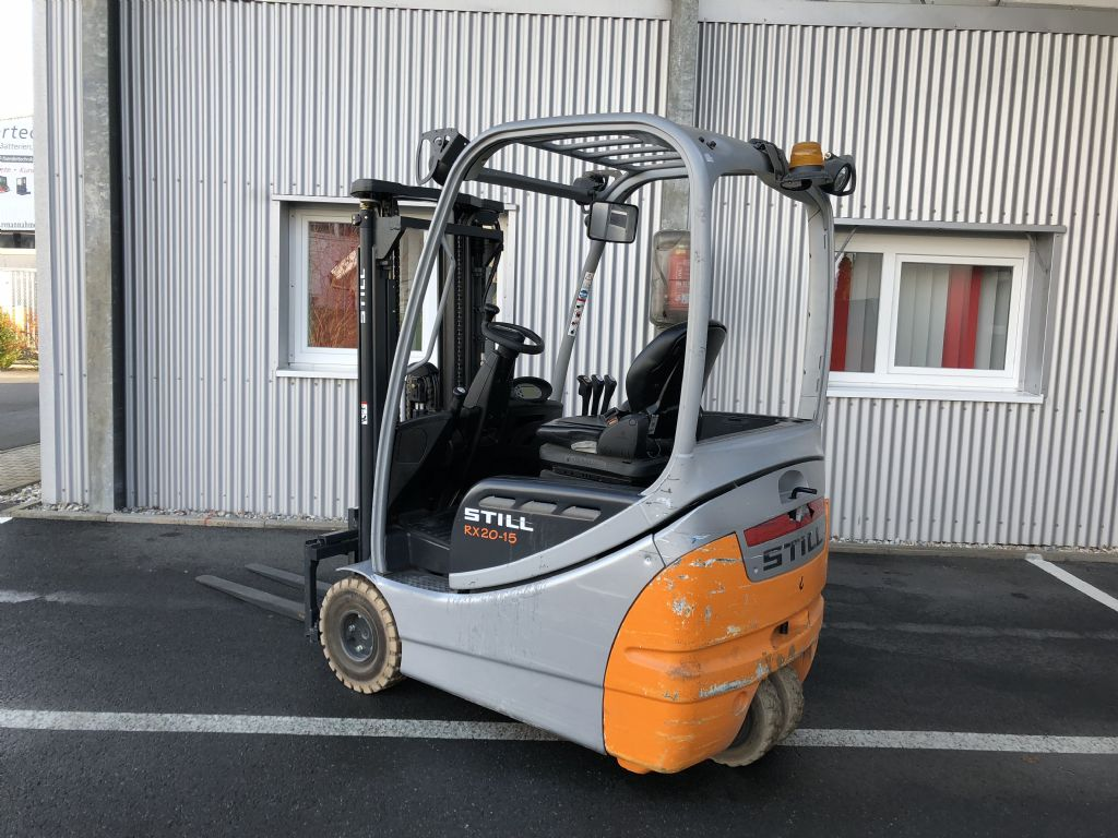 Still-RX 20-15-Elektro 3 Rad-Stapler-http://www.fiegl-foerdertechnik.de