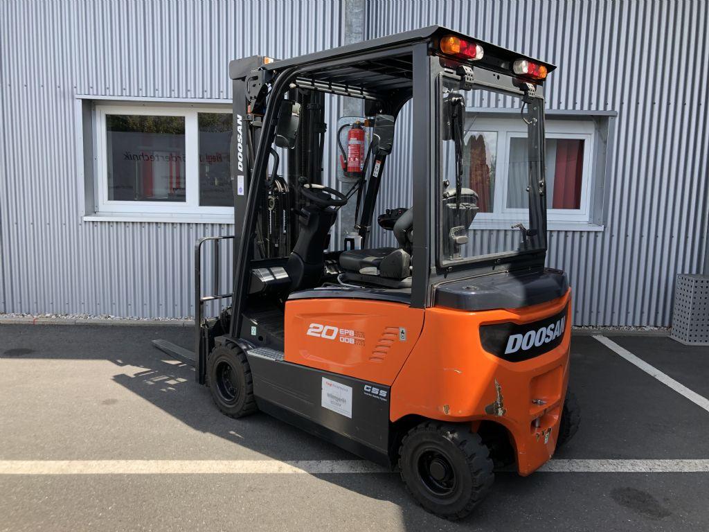 Doosan-B20X-7-Elektro 4 Rad-Stapler-http://www.fiegl-foerdertechnik.de