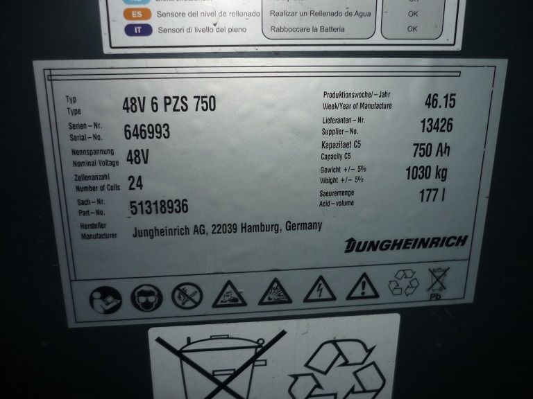 Jungheinrich-EFG 216-Elektro 3 Rad-Stapler-http://www.fischer-gabelstapler.de