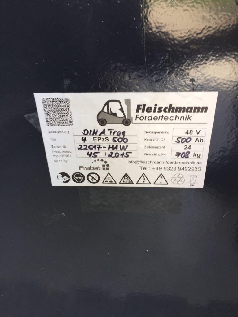 *Sonstige-48V Batterie 500 AH Bj. 45/2015-Antriebsbatterie-www.fleischmann-foerdertechnik.de