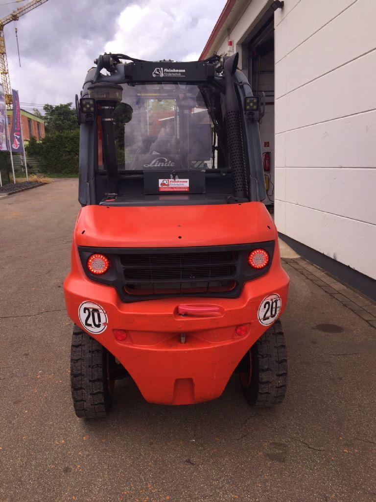 Linde-H 50 D/600-01 Triplex MIETGERÄT -Dieselstapler-www.fleischmann-foerdertechnik.de