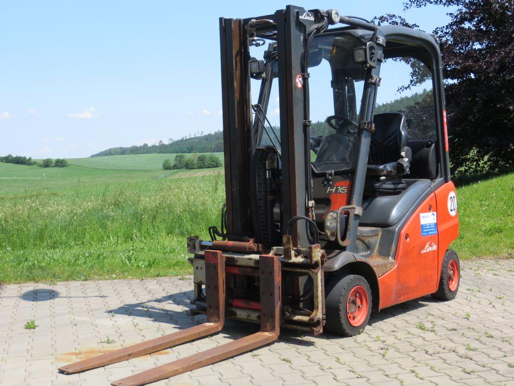 Linde H16D-01 Dieselstapler www.frantz-foerdertechnik.de
