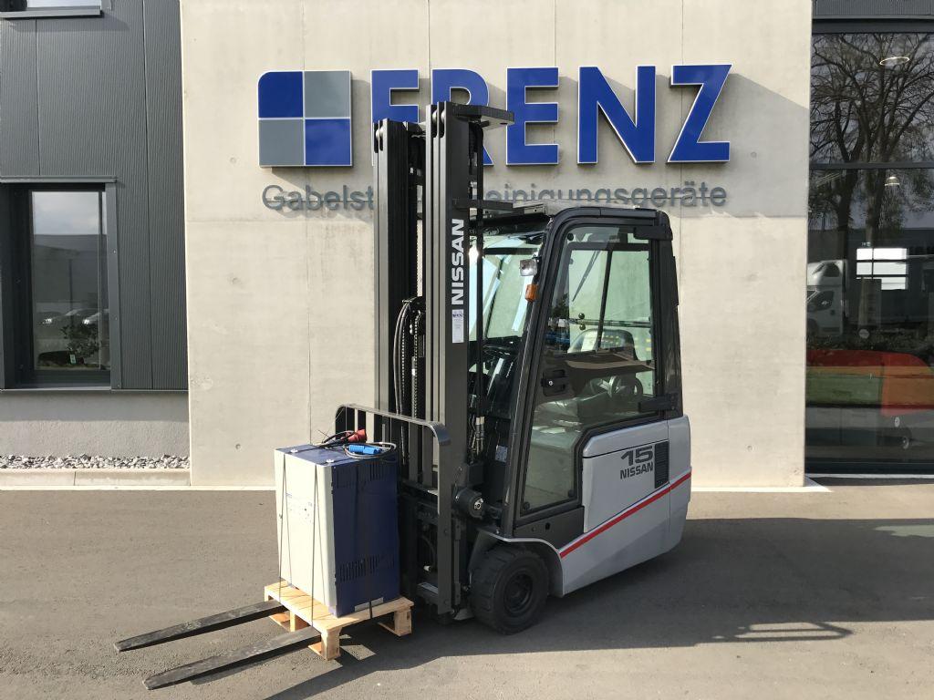 Nissan-TX15-Elektro 3 Rad-Stapler-http://www.frenz-gabelstapler.de