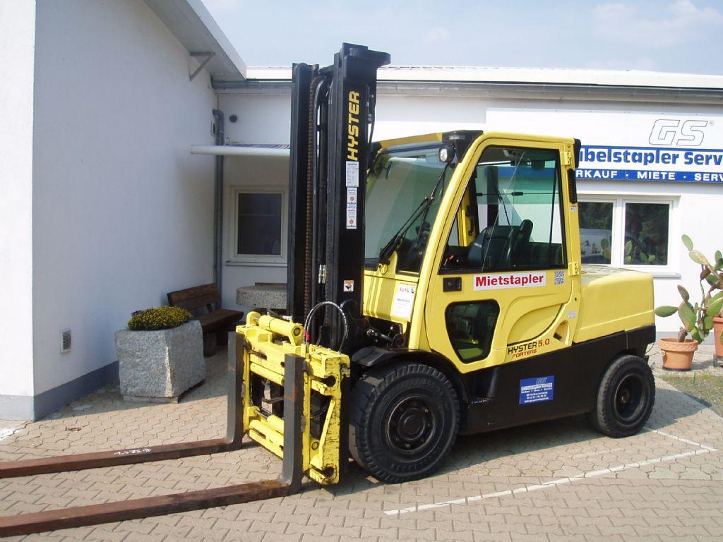 Hyster H 5.00 FTD Dieselstapler www.gs-gabelstapler.de