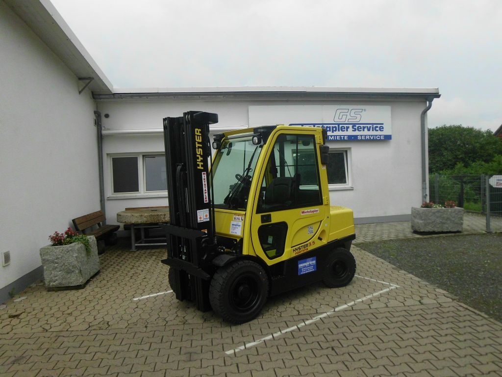 Hyster H 3.50 FT A Dieselstapler www.gs-gabelstapler.de