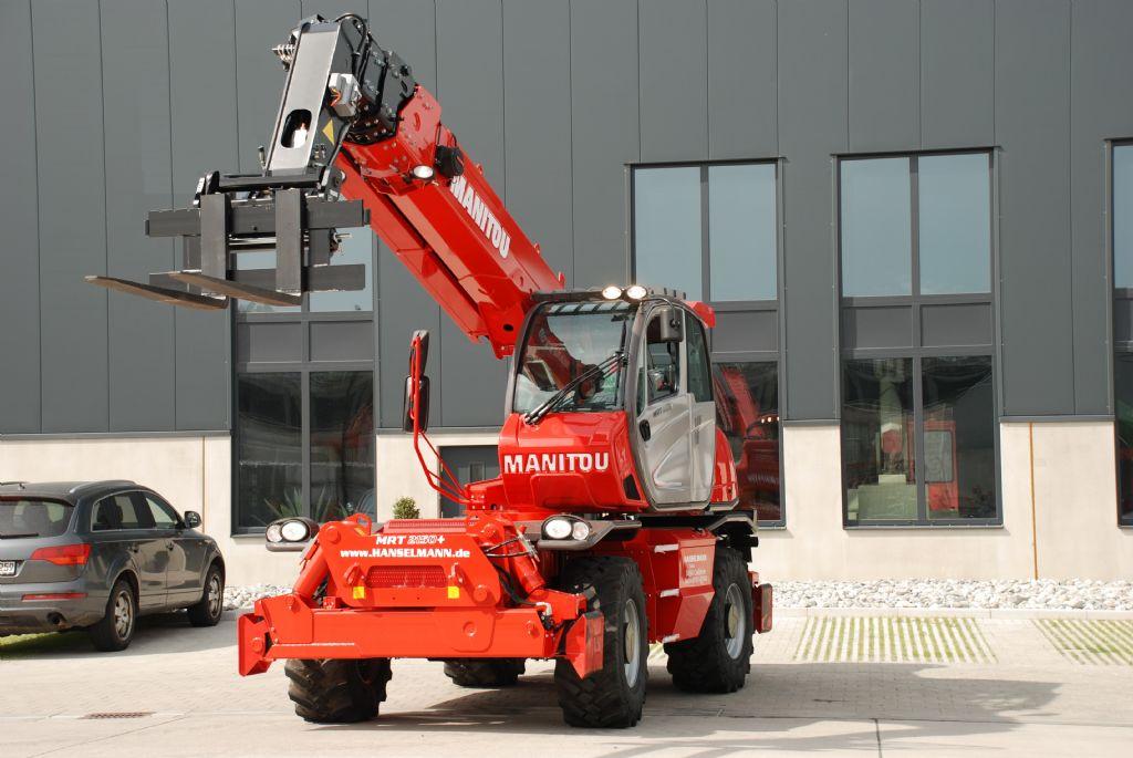 Manitou-MRT 2150 + Plus Privilege-Teleskopstapler drehbar-http://www.hanselmann.de