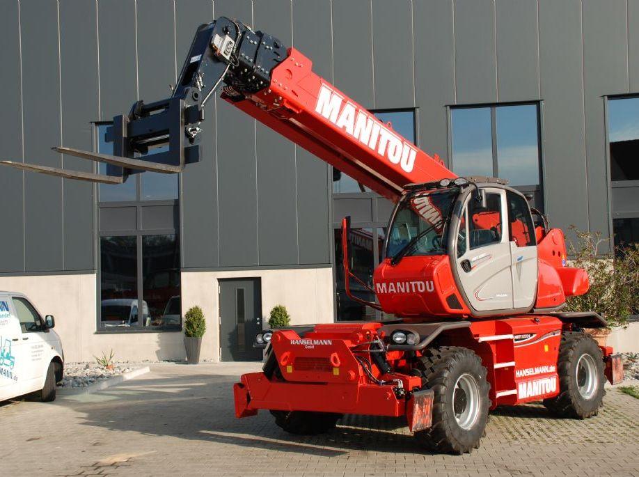 Manitou-MRT 2550 + Plus Privilege ST4 S2-Teleskopstapler drehbar-http://www.hanselmann.de