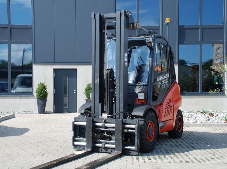 Linde H50T-01 Treibgasstapler www.hanselmann.de