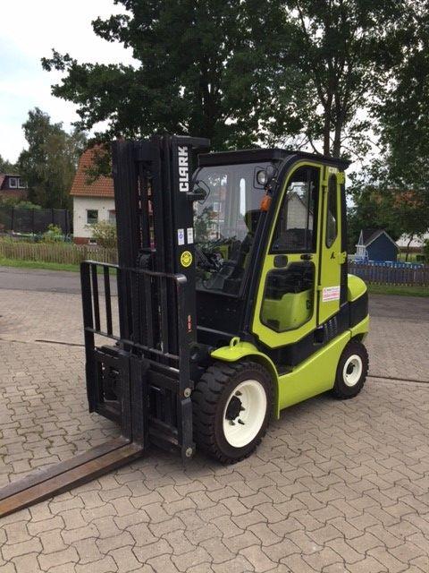 Clark C30D Dieselstapler www.gabelstapler-heckert.de