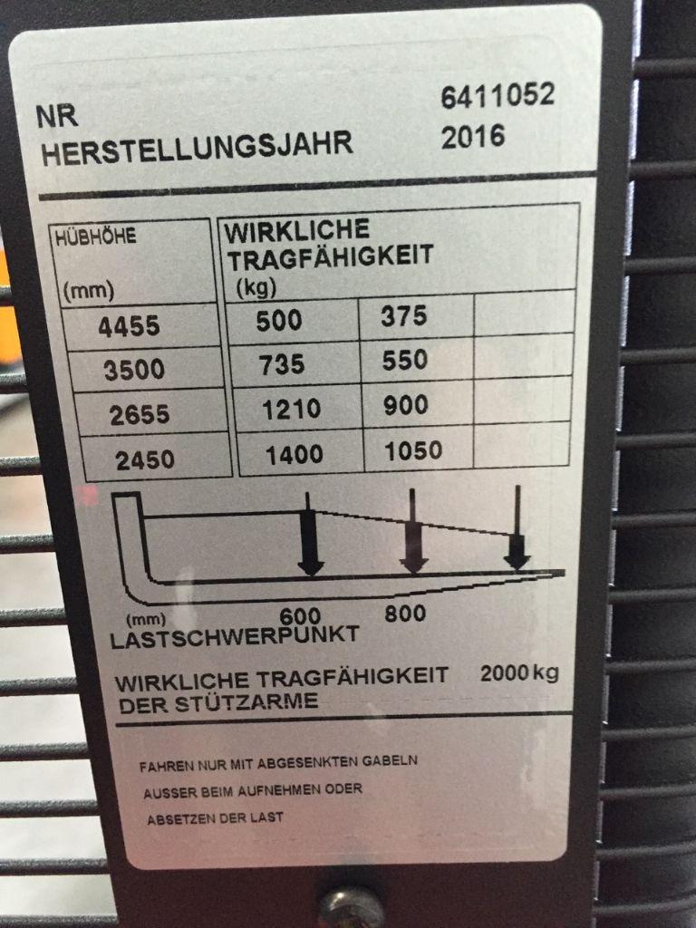 BT SWE140L - neu!  Hochhubwagen www.gabelstapler-heckert.de