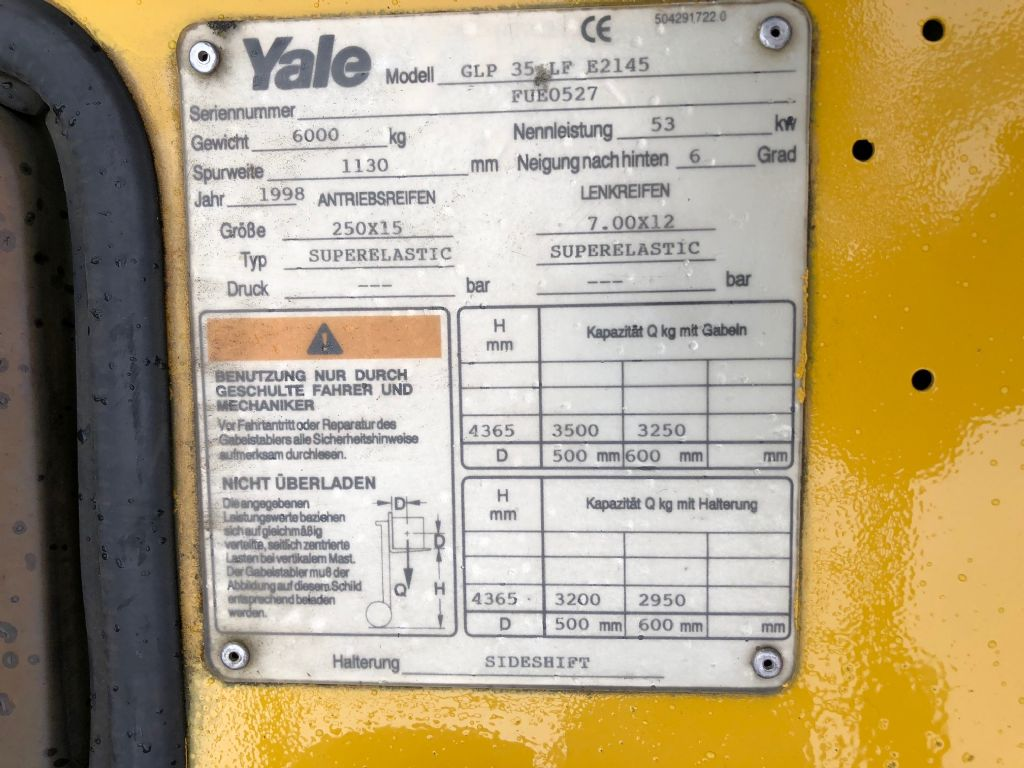 Yale-GLP35LF Neuer Motor-Treibgasstapler-www.herbst-gabelstapler.de