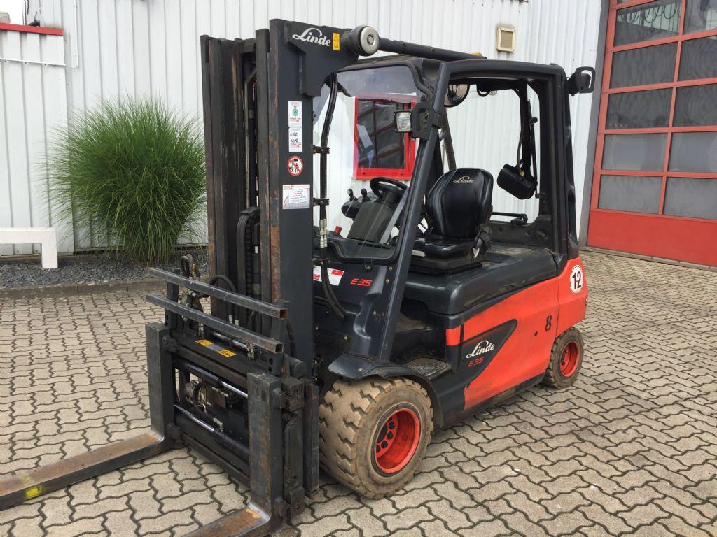 Linde-E35L-01-Elektro 4 Rad-Stapler-http://www.herbst-gabelstapler.de