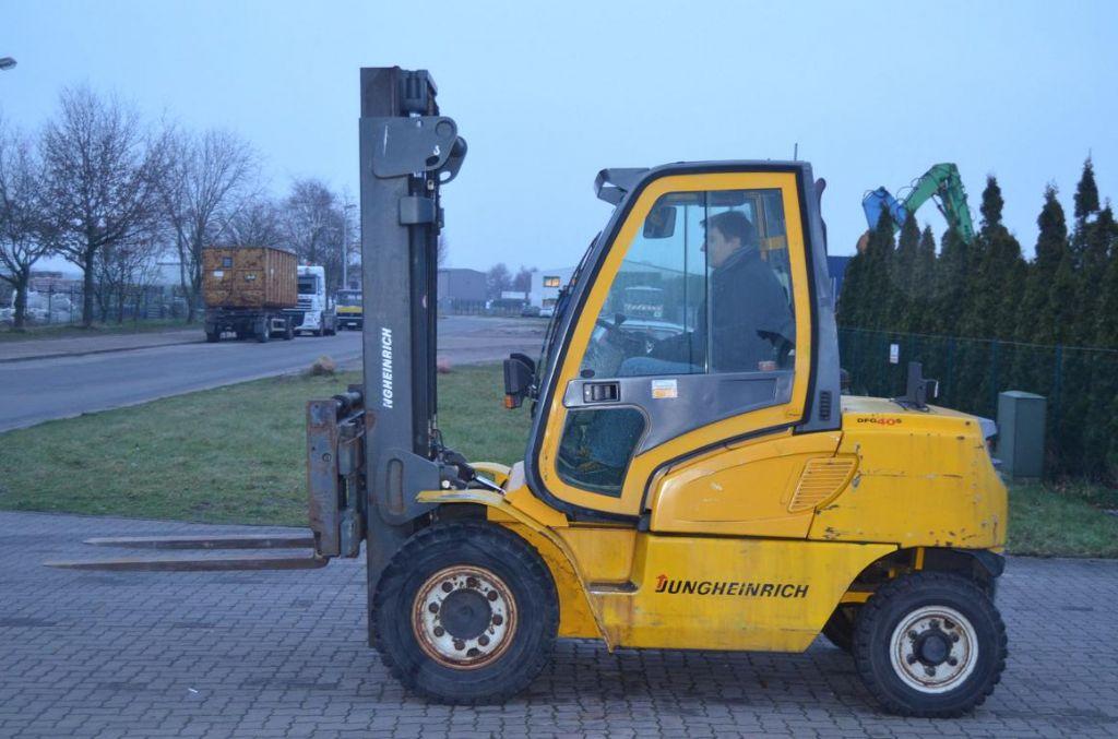 Jungheinrich DFG40 Dieselstapler www.hinrichs-forklifts.com