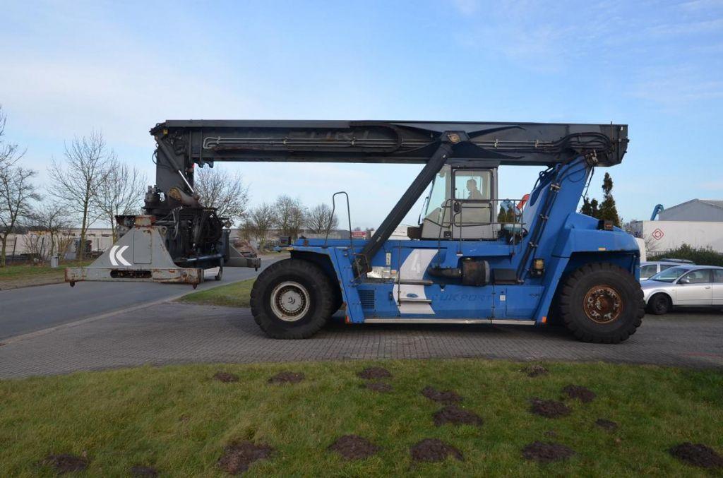 Kalmar-DRF450-60S5-Vollcontainer Reachstacker-www.Hinrichs-Forklifts.com