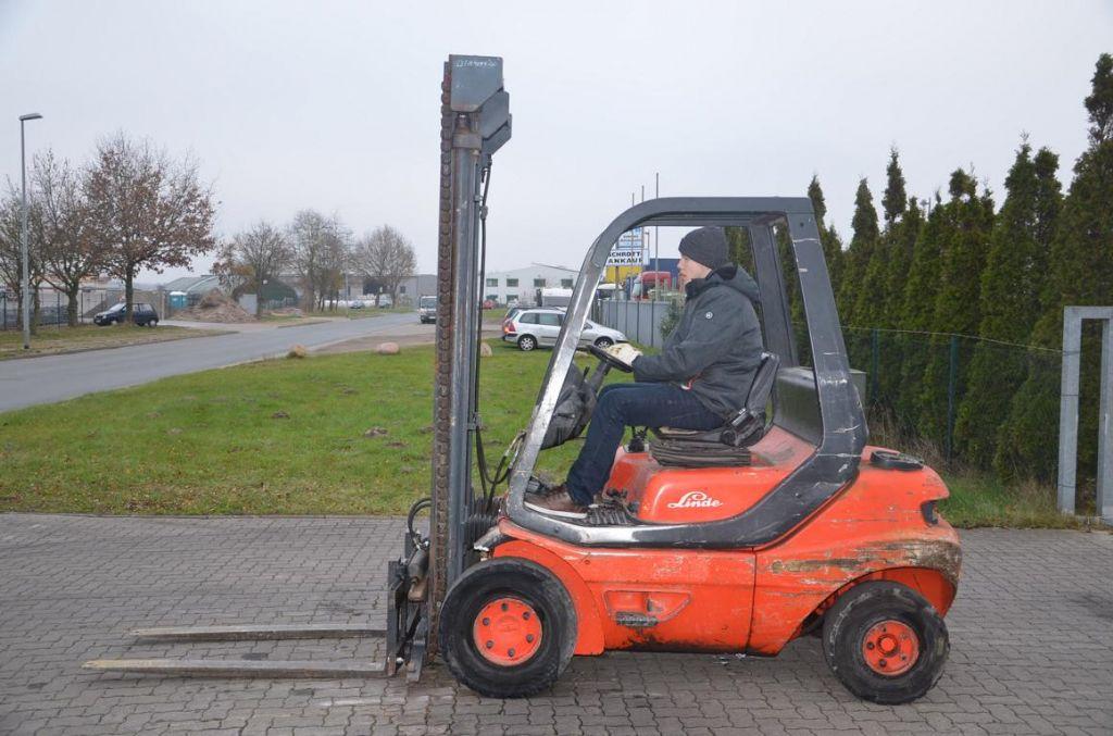 Diesel Gabelstapler-Linde-H25D