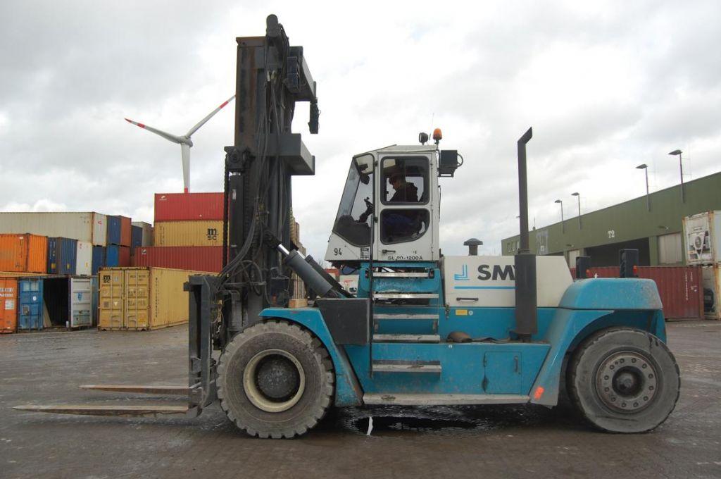 Diesel Gabelstapler-SMV-SL20-1200A