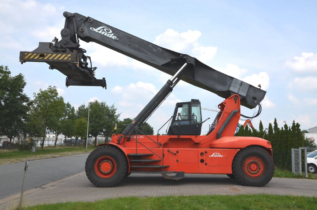 Reach Stacker-Linde-C4535TL