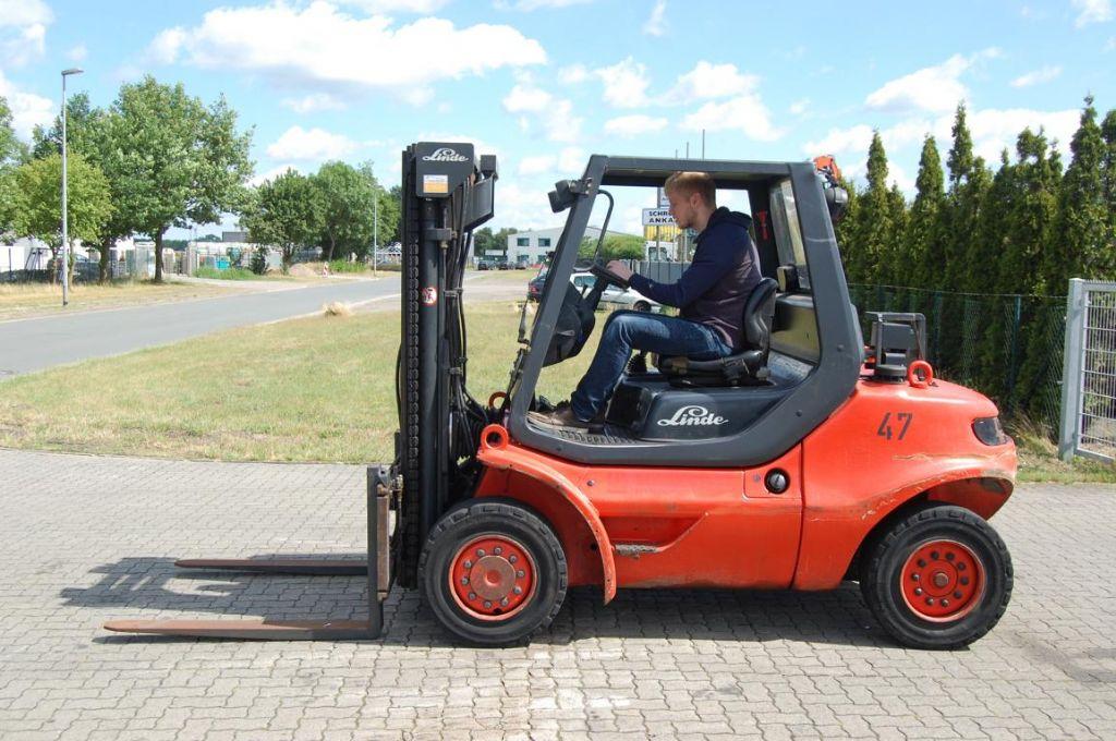 Linde H45D-04-600 Dieselstapler www.hinrichs-forklifts.com