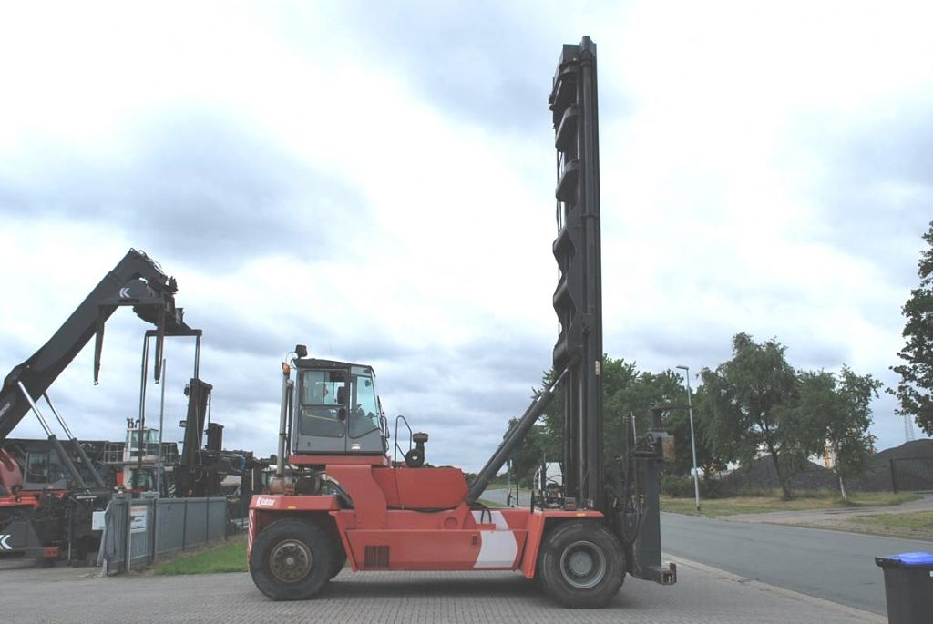 Kalmar-DCE100-45E7-Leer Containerstapler