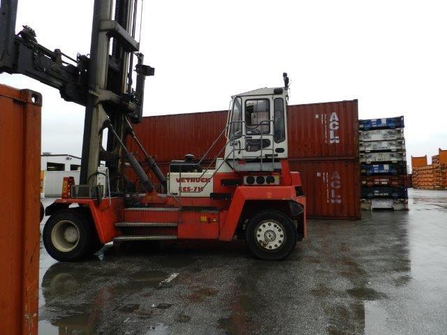 Leer Containerstapler-Svetruck-ECS-7H-DS